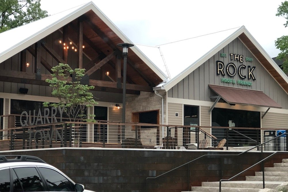 The Rock restaurant and bar is set to begin operations June 10 at the Quarry Town development.