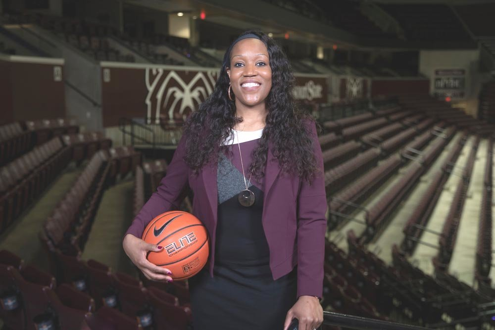 "NEW HIRE: Amaka ""Mox"" Agugua-Hamilton was named Missouri State Lady Bears head coach in April. Agugua-Hamilton comes from Michigan State University."