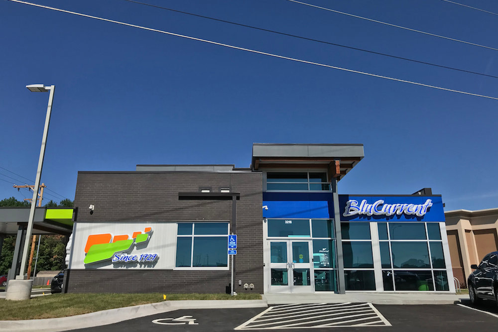 BluCurrent Credit Union's 3216 S. Glenstone Ave. location spans 2,500 square feet