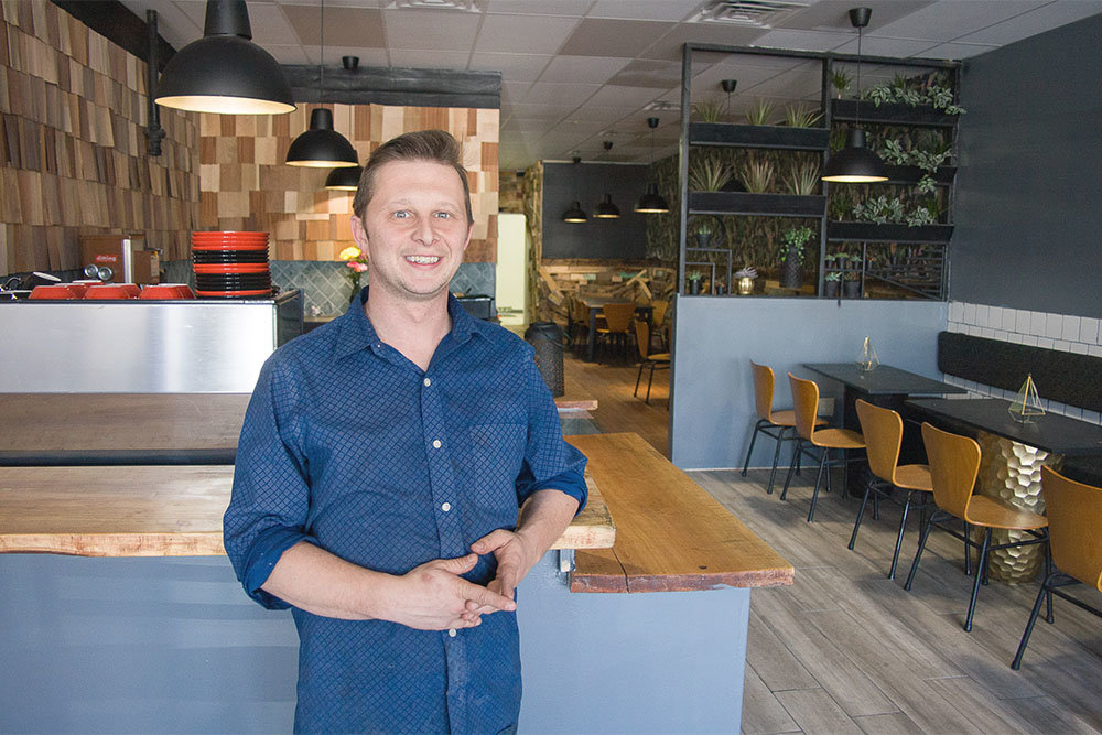 Rance Loftsgard is opening Able Coffee & Provisions tomorrow in the Fremont Center.