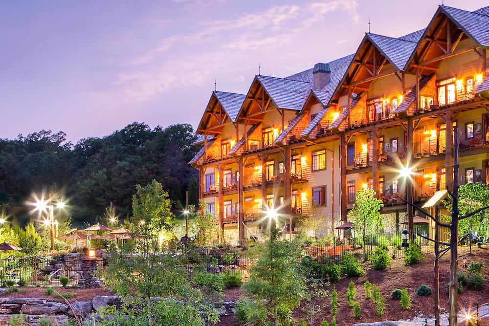 The Wilderness Club at Big Cedar is among timeshare interests sold by Bluegreen Vacations inside Bass Pro Shops stores.