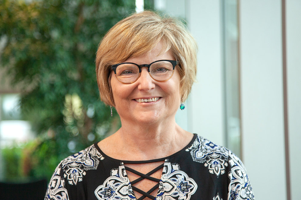 Judy Hadsall, CEO of Multipli Credit Union, is the 2019 Legacy Adviser.