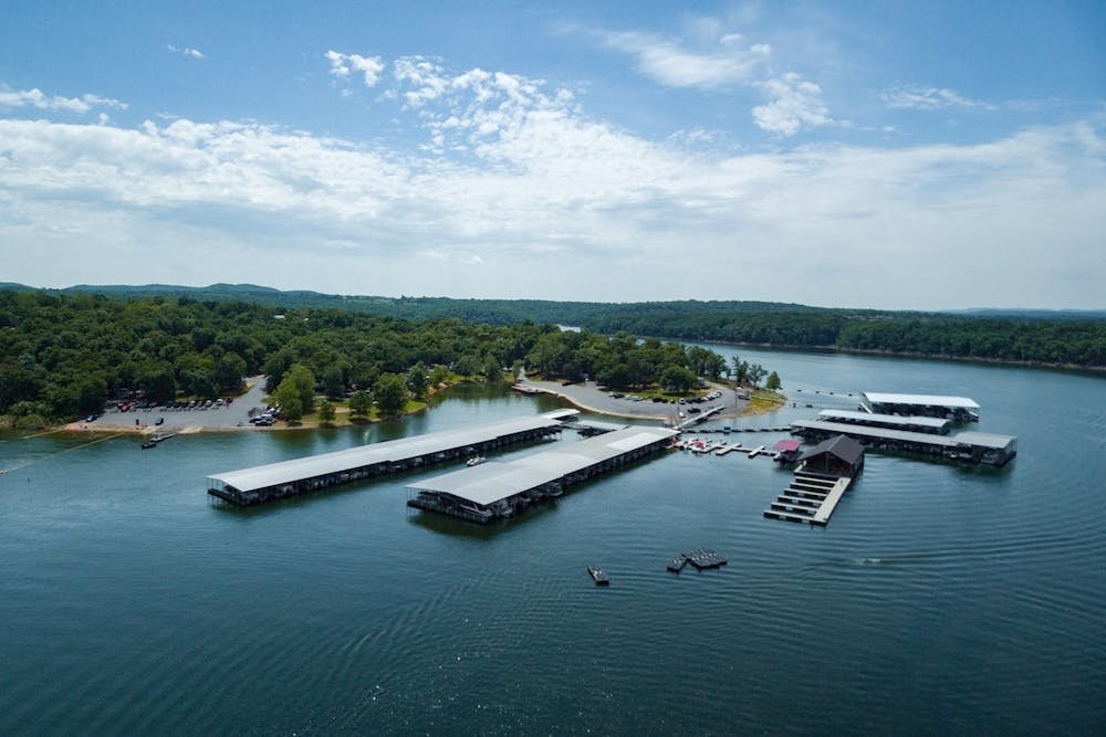 Kings River Marina is located on Table Rock Lake in Shell Knob.