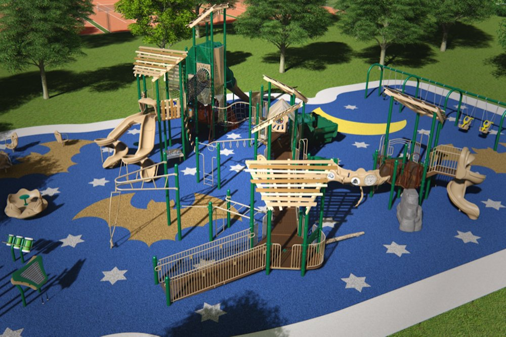 "The Batpark is designed as an ""all-inclusive, sensory park"" for children with and without disabilities on the south side of The Ridge at Ward Branch, says Derek Smith of Project Bat."