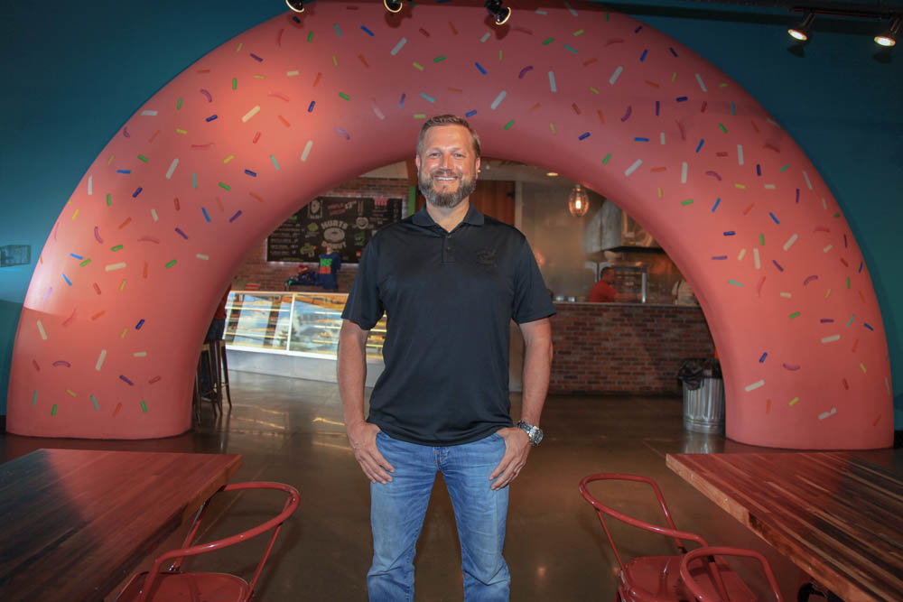 Tim Clegg leads a franchise system with nearly two dozen stores.