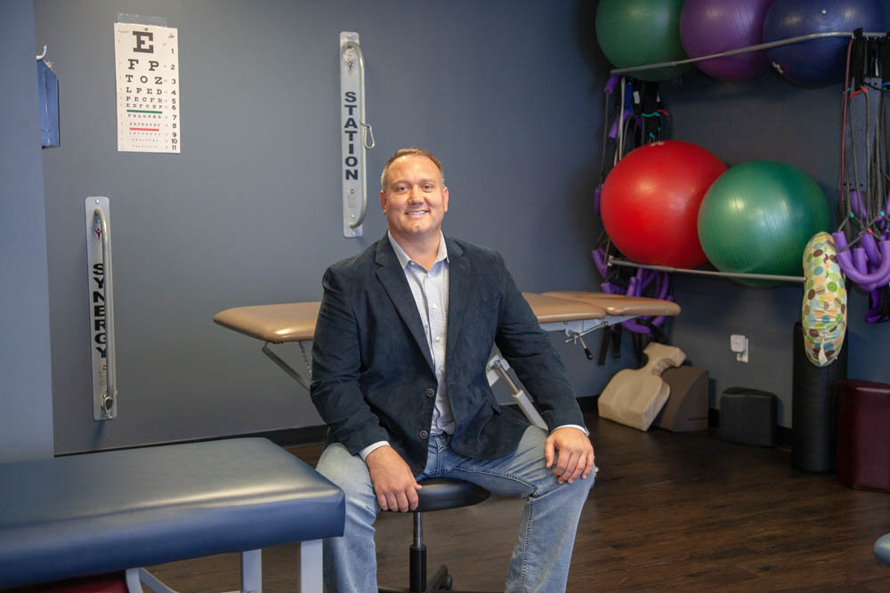 Steven Loehr says his business is benefitting from a trend in natural health care.