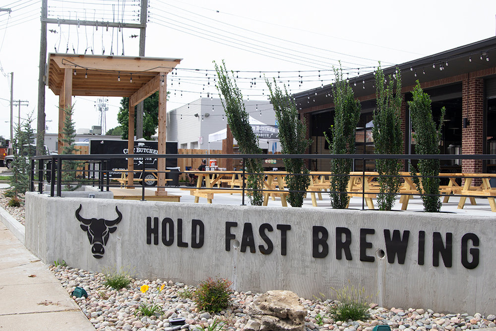 Hold Fast Brewing is located in a former fire station downtown.