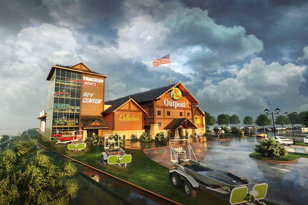 Bass Pro Shops will anchor a new mixed-use development in West Virginia.