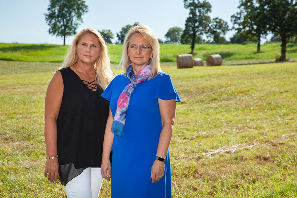 NEIGHBORHOOD WATCH: Galloway Village Neighborhood Association members Wendy Huscher, left, and Marcie Kirkup are advocating for more single-family homes developed in the area.