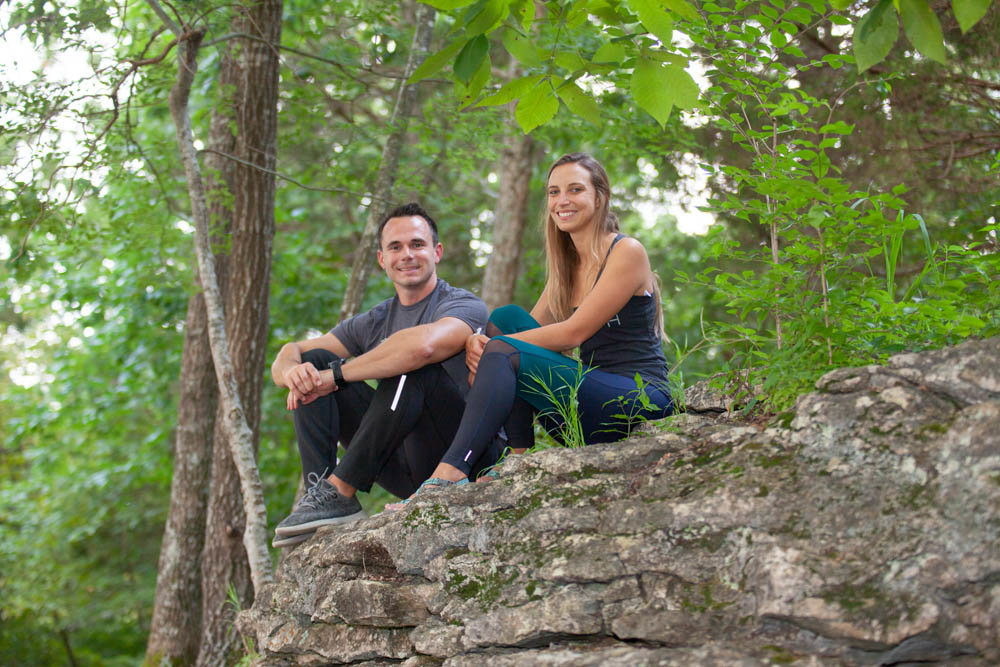 HIT THE TRAILS: Danny Collins and Cristina Bustamante, husband-and-wife co-owner of 37 North Expeditions, seek to create a community through their company's outdoor adventurers.