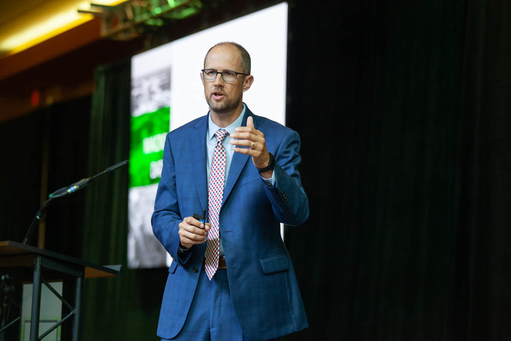Ryan Mooney, the chamber's senior vice president of economic development, says Springfield continues to record low industrial and vacancy rates.