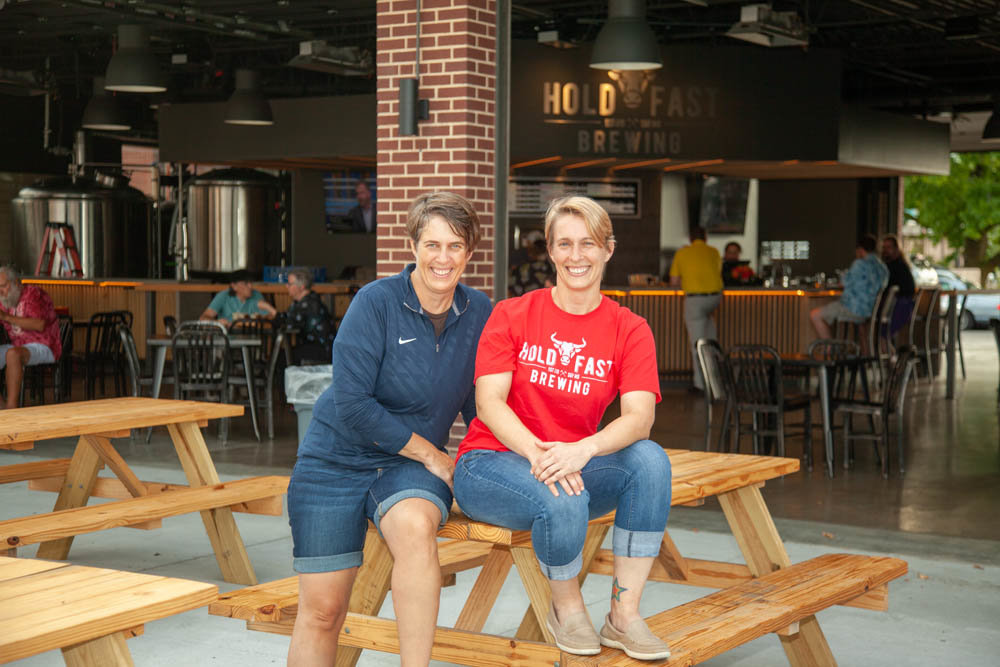 Carol McLeod and Susan McLeod, Hold Fast Brewing