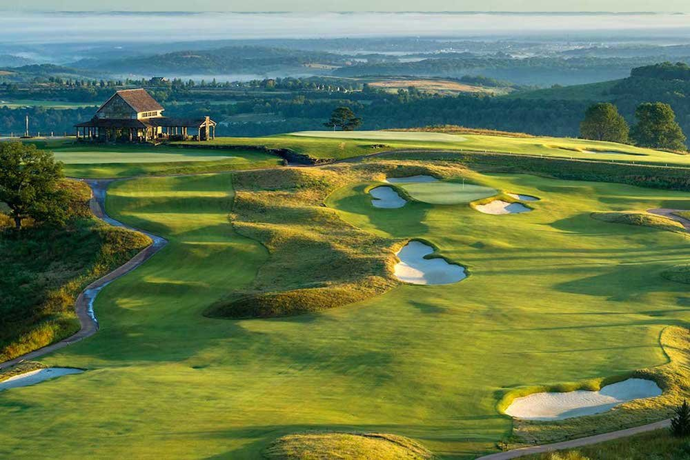 Big Cedar Lodge is the only Missouri resort named on Golf Magazine's list.
