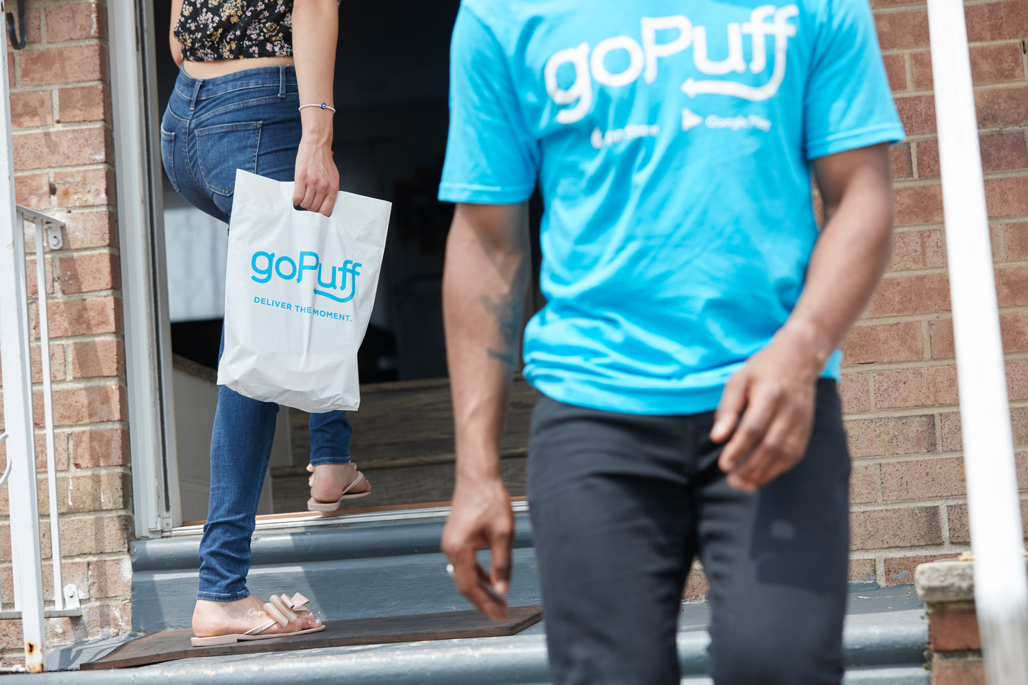 Customers can receive snacks and household items at their homes via goPuff.