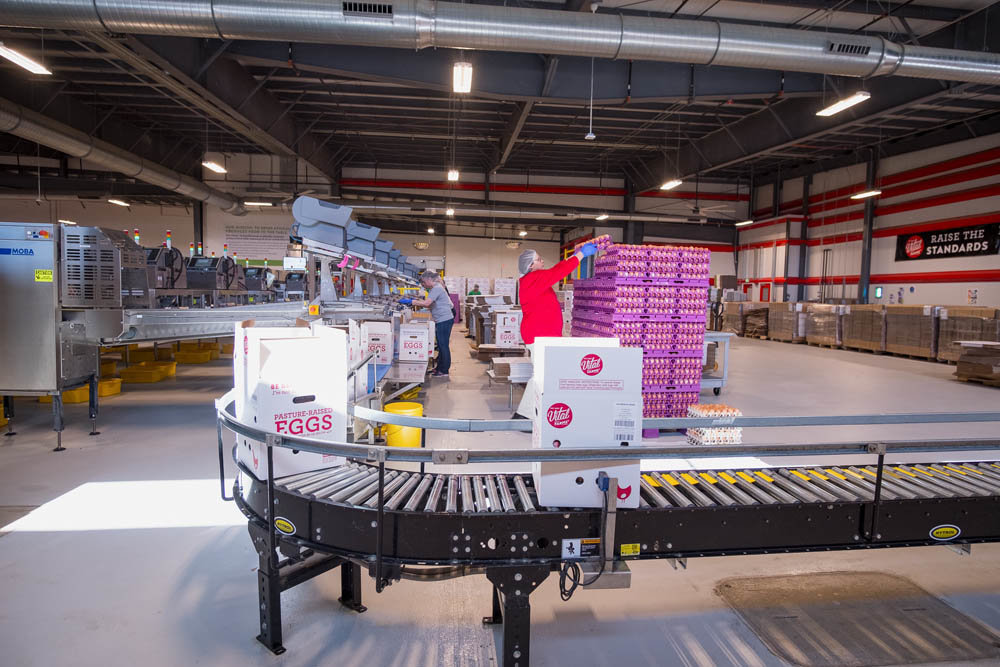 A 64,000-square-foot expansion to Egg Central Station is in the works.