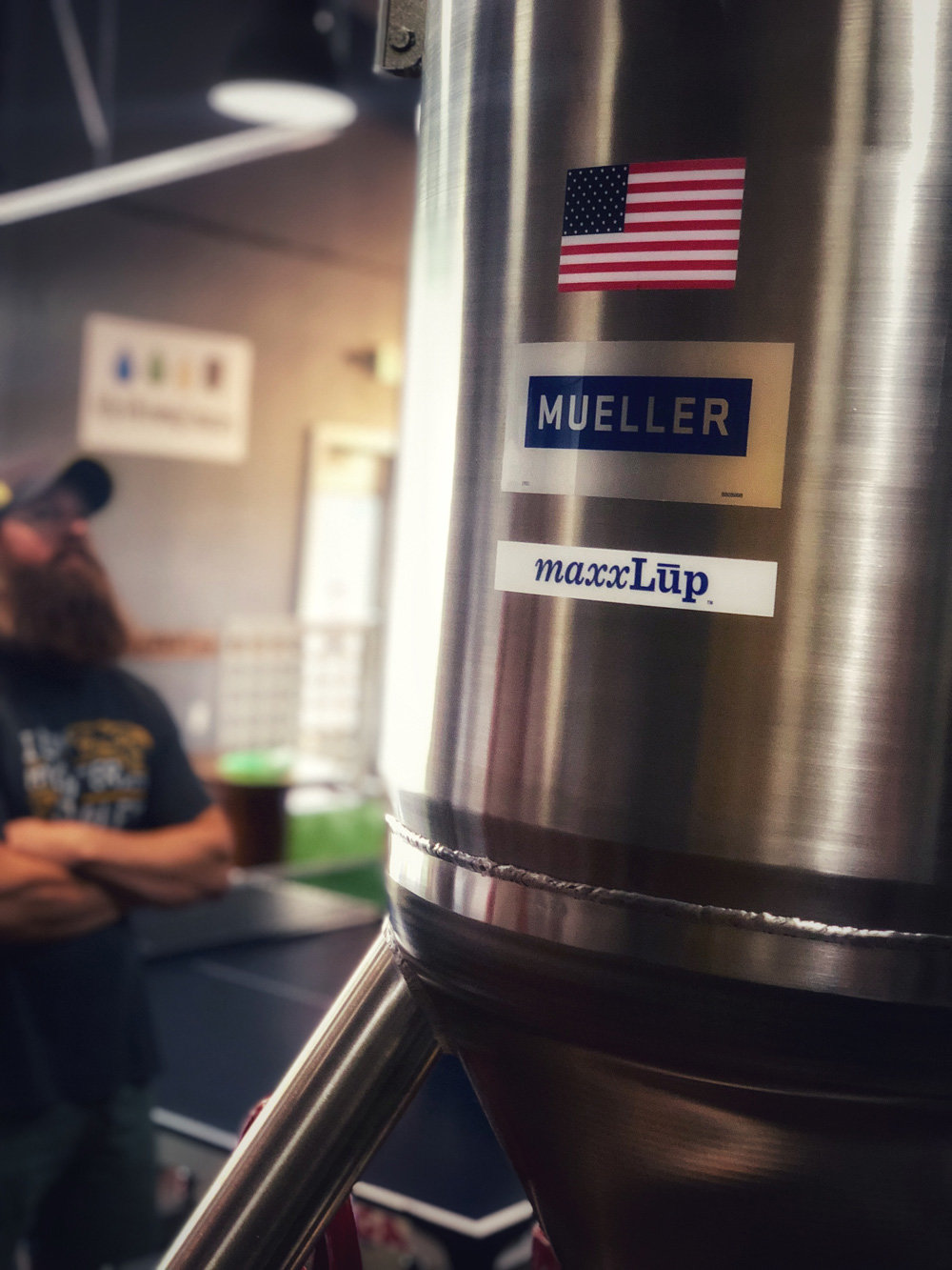 The new beer from 4 by 4 Brewing Co. is produced using maxxLup, a beer infusion system from Paul Mueller Co.