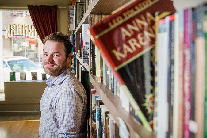 Josh Arnett reverses course after previously announcing the closure of his downtown BookMarx store.