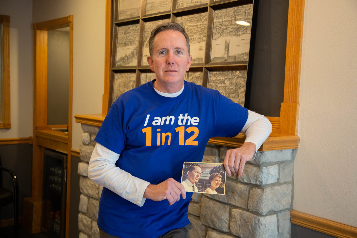 David Potter says after his parents were murdered when he was 10 years old, a place like Lost & Found Grief Center would have helped him work through his pain. That's why he's supporting the nonprofit today through the 1 in 12 campaign.