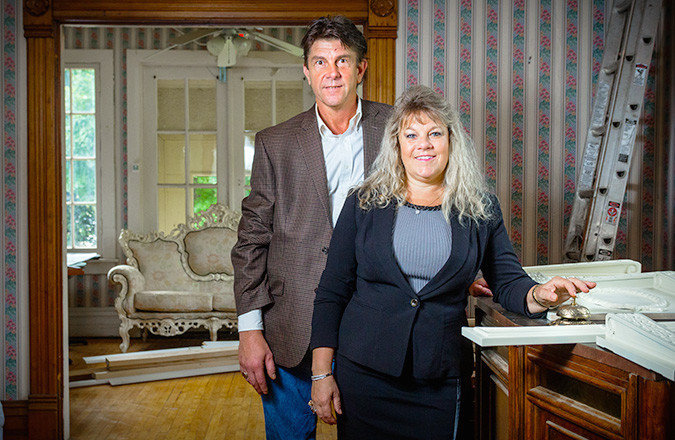 Wayne and Susan Rader, pictured above at their Rader Manor in September 2016, are the new owners of Pappy's Place.