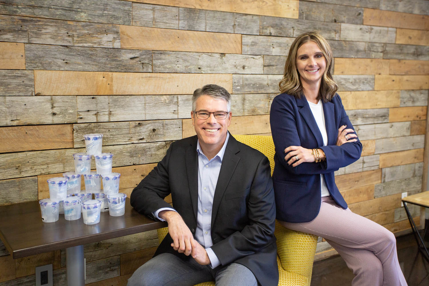 ACQUISITION STRATEGY: It's been a year of change for Tomo Drug Testing — led by owner Mickey Moore, left, and President Angela Garrison — with two acquisitions and an expansion into Oklahoma.