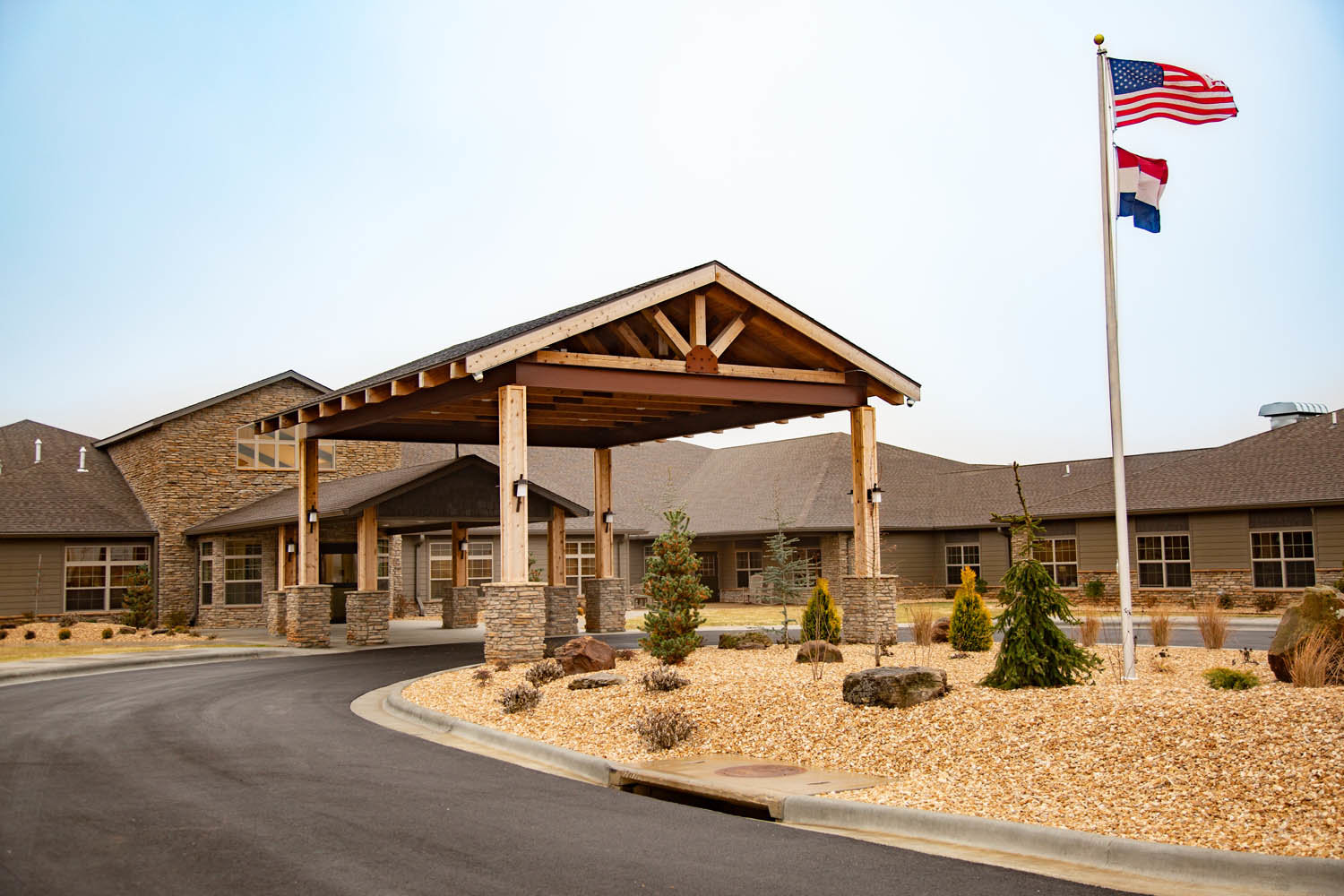 The skilled nursing center operates in Rogersville.