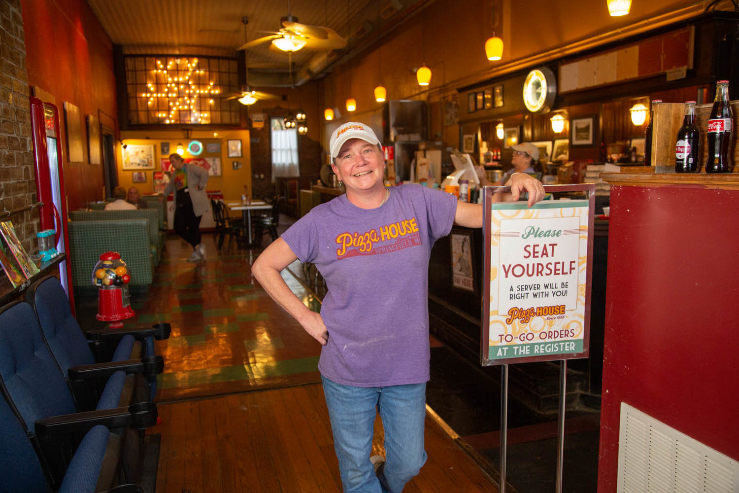 CONSISTENT STYLE: Pizza House, owned by Stacey Schneider since 2008, continues serving up the same thin crust style of pizza it began making over six decades ago.