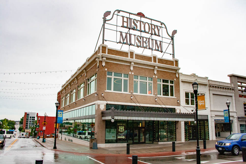 The History Museum on the Square currently is favored among most other attractions on USA Today's reader poll.