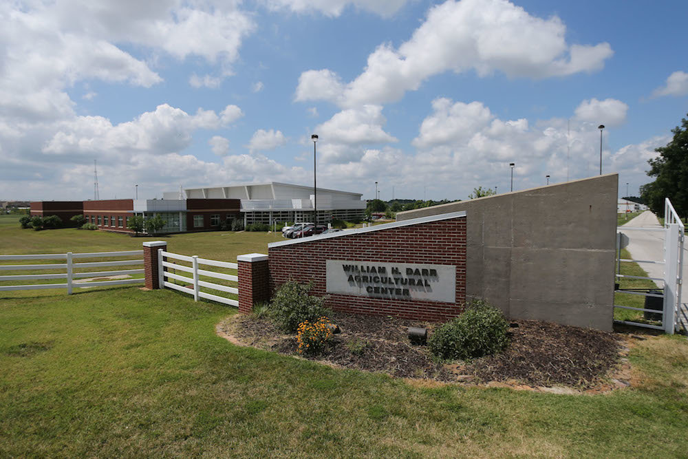 Funding is earmarked for the William H. Darr Agricultural Center.