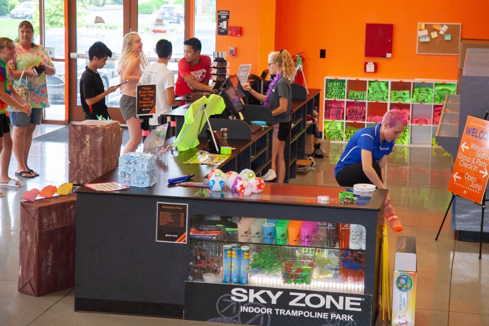 Franchisee Deny Gravity previously announced plans to invest $250,000-$400,000 upgrading Sky Zone.