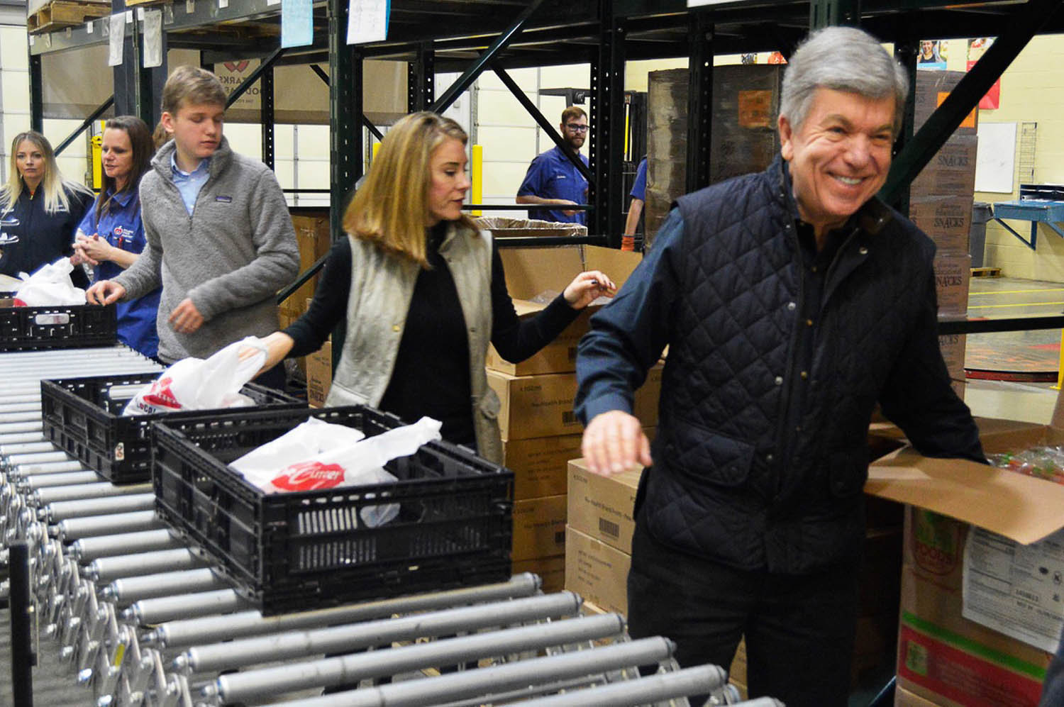 VOLUNTEER SENATOR