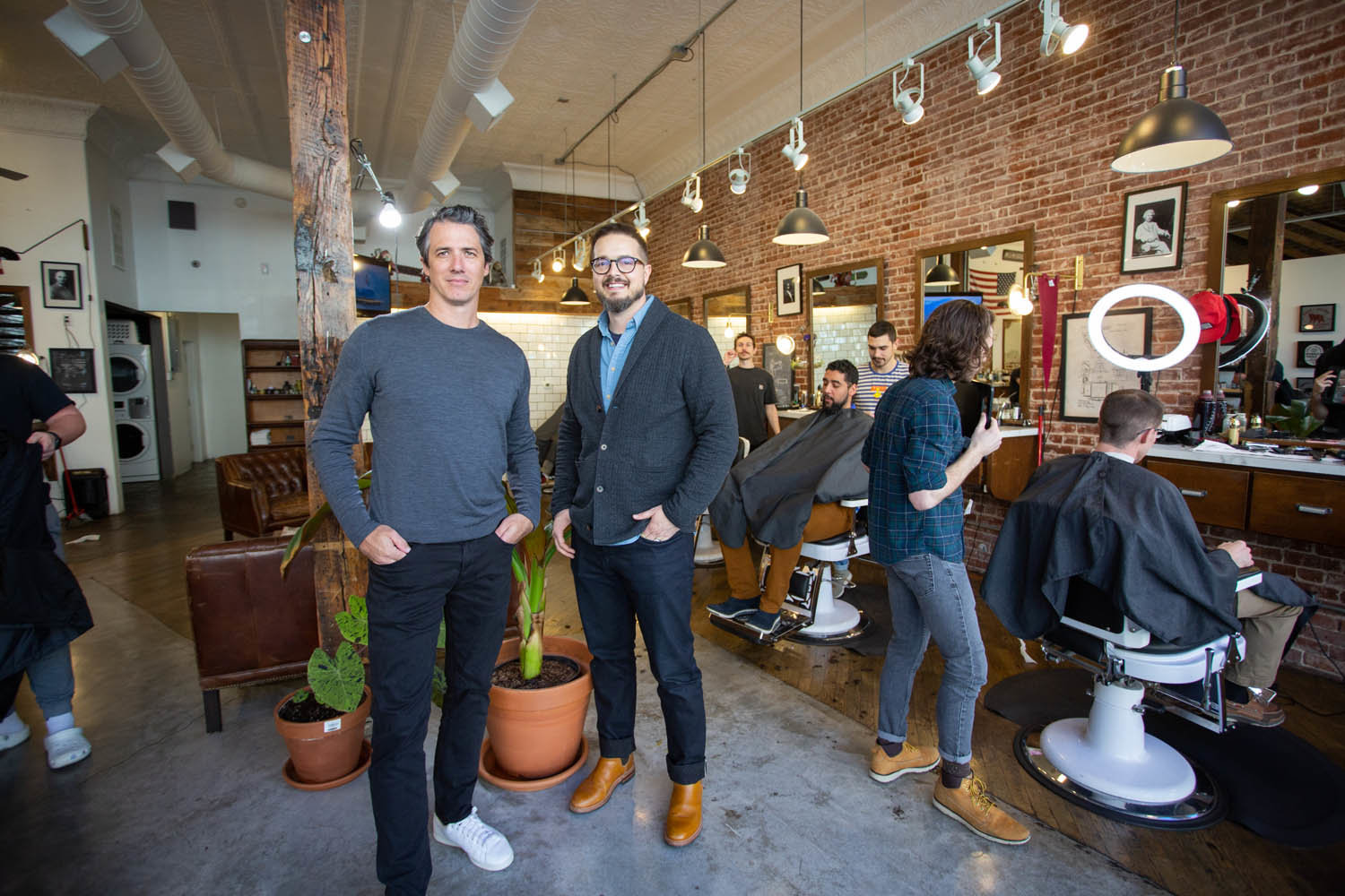 IN THE DETAILS: Owners Paul Catlett, left, and Thad Forrester say store No. 11 will open this year in a city to be determined.
