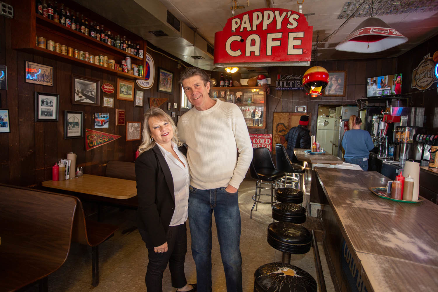 Susan and Wayne Rader, Pappy's Place