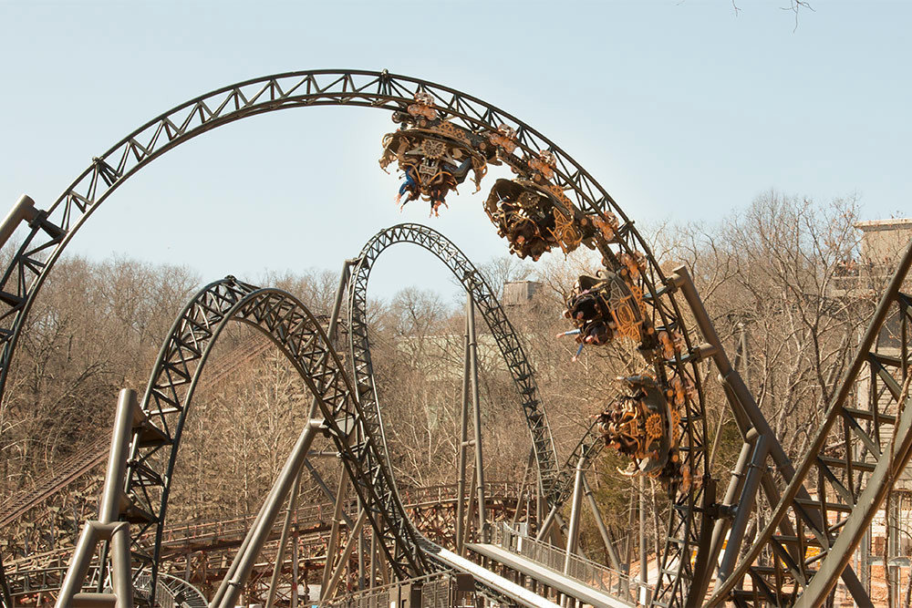 Silver Dollar City's $26 million Time Traveler roller coaster is among $100 million in capital investments made during the 2010s.