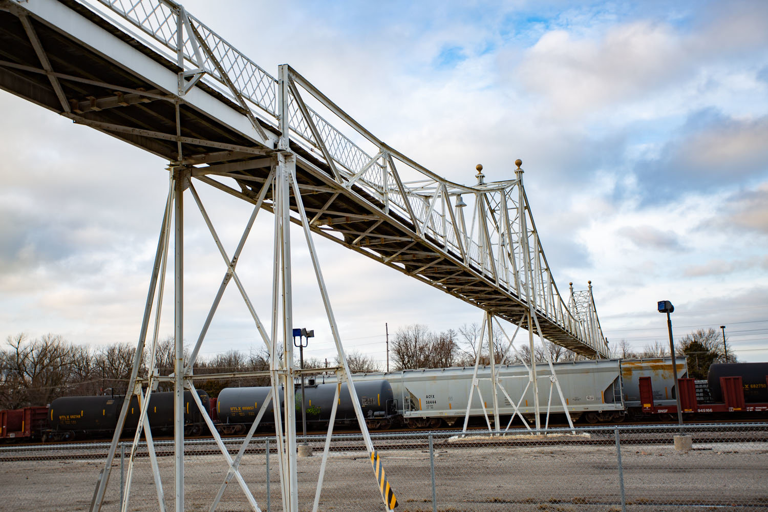 The Jefferson Avenue Footbridge rehabilitation project is slated for an open-bid process this spring.