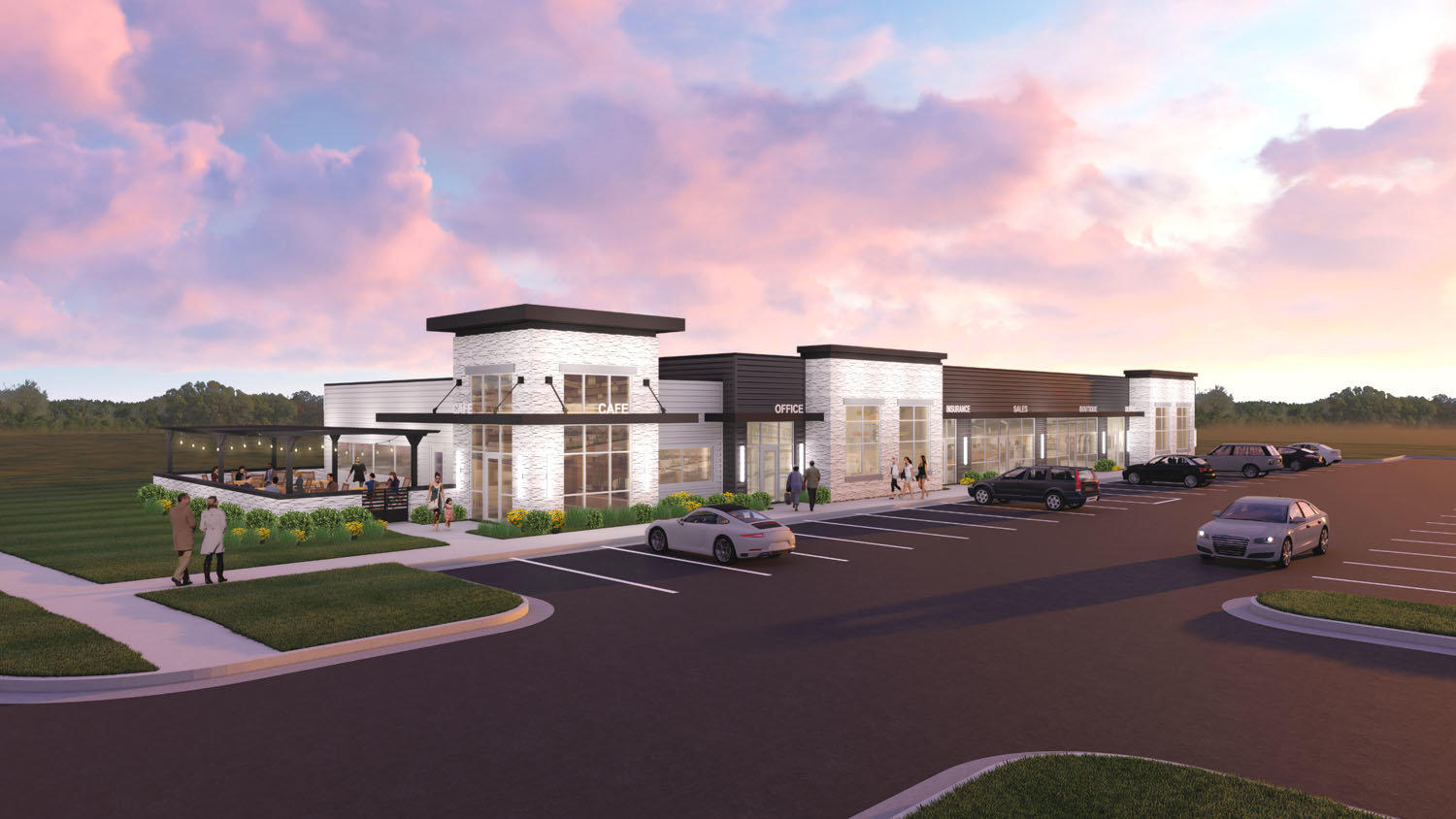 Plans are in the works to create a mixed-use business center with a focus on ancillary real estate services next to the future Keller Williams local headquarters.