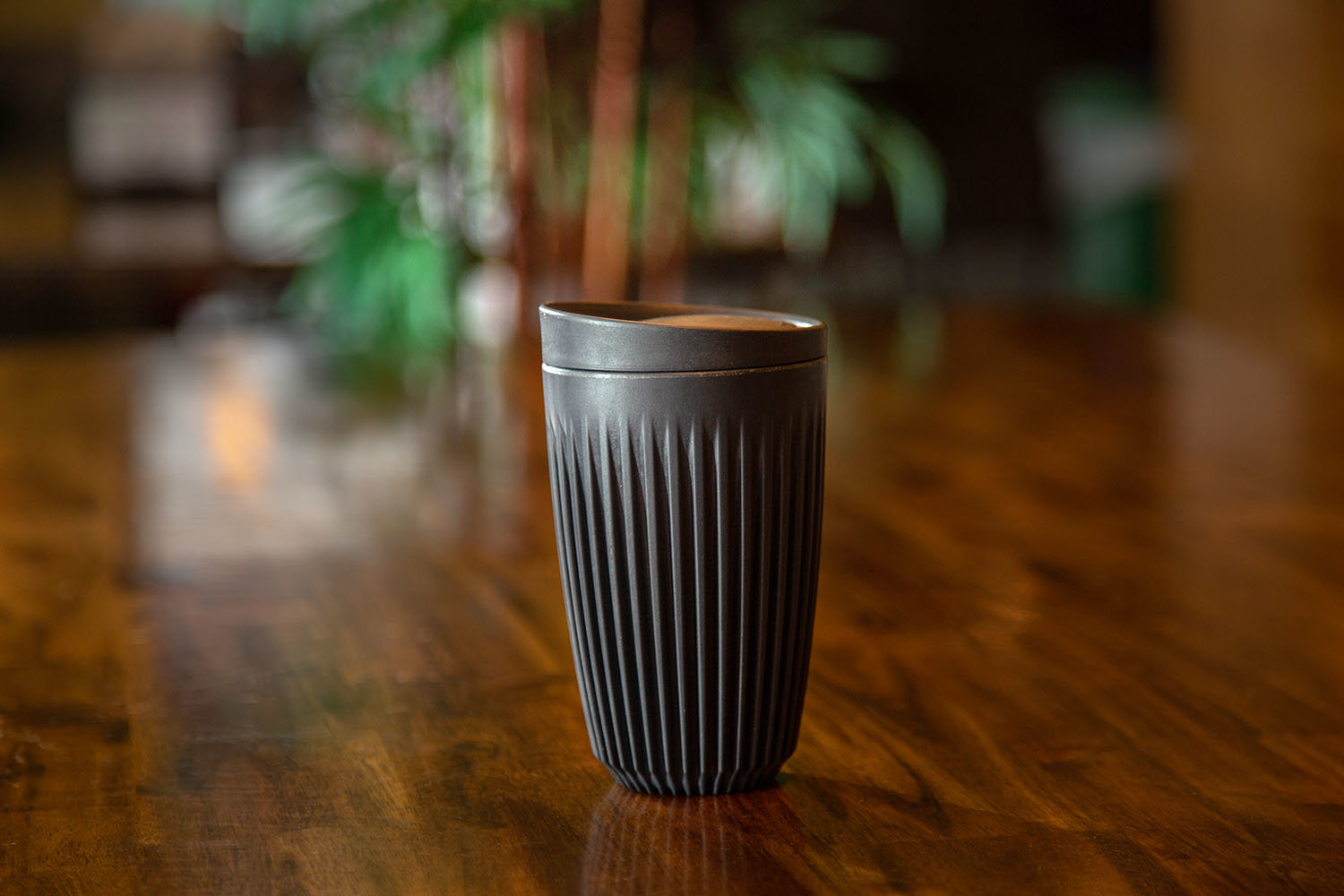 Reusable HuskeeCups are for sale at The Coffee Ethic and MaMa Jean's.