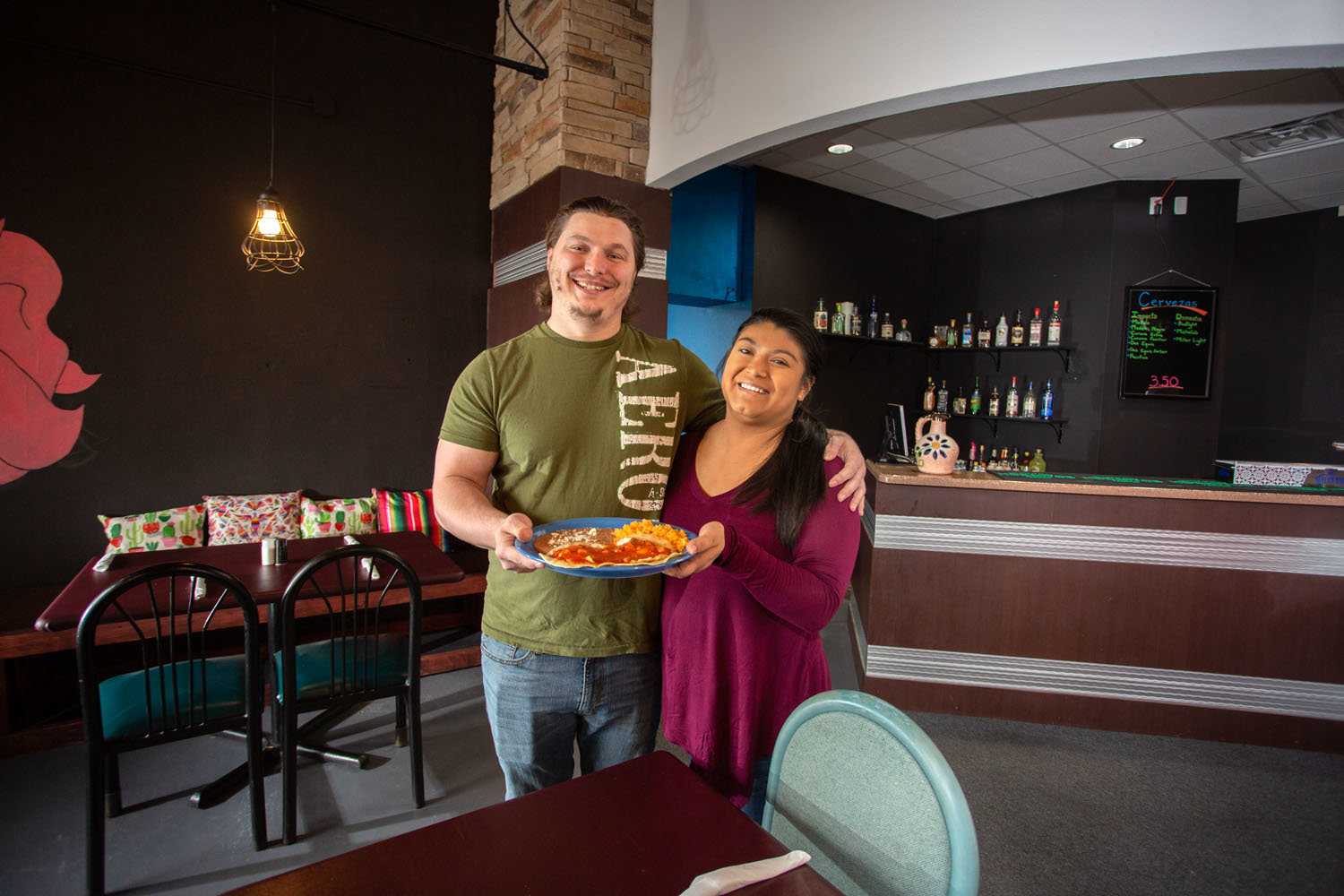 Scotty and Sofia Pavon-Wilson, Tequila & Mezcal Mexican Cuisine and Bar