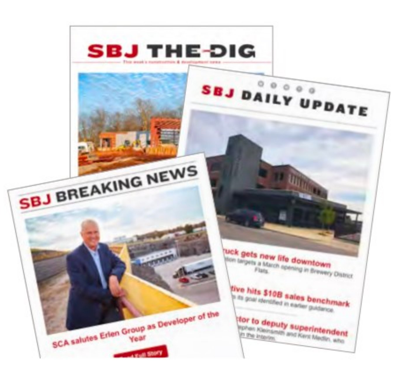 SBJ's e-newsletters are getting a new look.