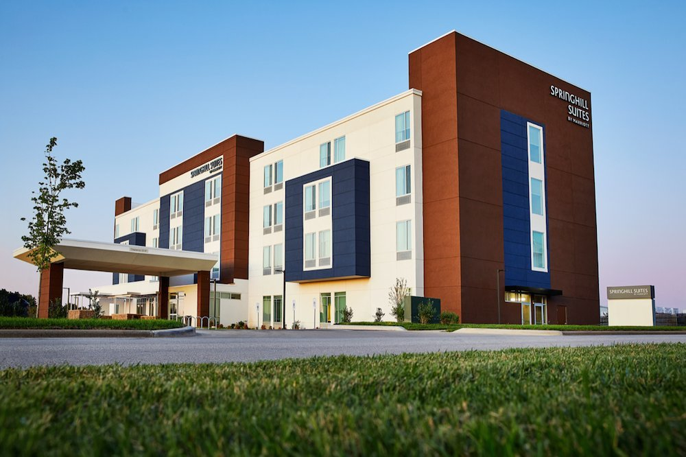 SpringHill Suites by Marriott is unable to fill more than 10 rooms, according to its acting general manager.