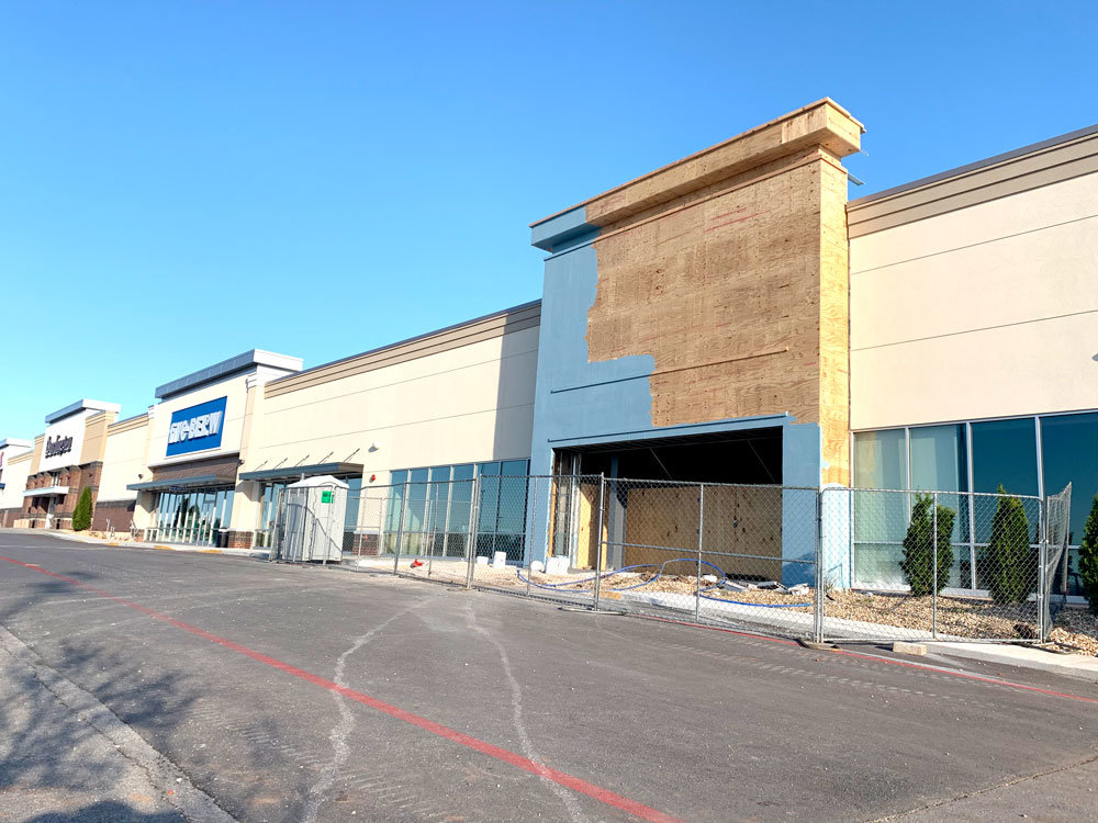 Construction continues for Ulta Beauty at Springfield Plaza, though corporate store officials say they're unsure of when infill work will begin.