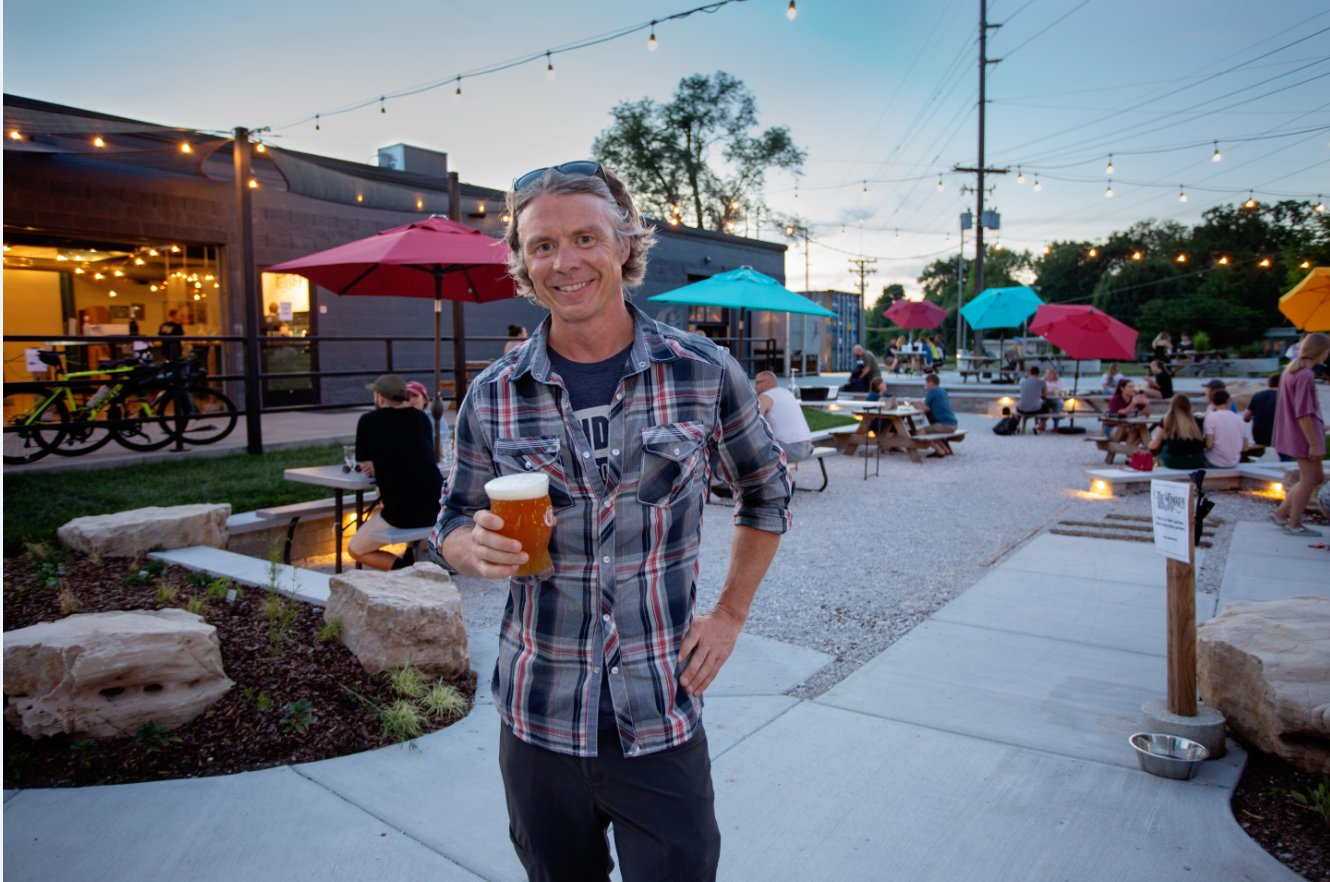 Tie & Timber Beer Co. co-owner Curtis Marshall says Paycheck Protection Program funding allowed him to keep paying employees even as the tasting room was closed for several weeks. The taproom is now open with occupancy restrictions.
