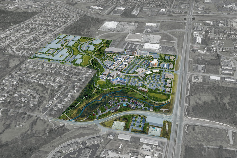 The 100-acre development dubbed The Ridge at Ward Branch was announced two years ago.