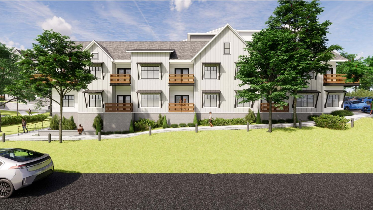 Elevation Development Co. and H Design Group LLC have reduced the project to 100 units in the multifamily portion.