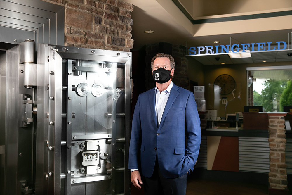 GOING DIGITAL: Springfield First Community bank CEO Rob Fulp says more banking customers are moving to digital products — a trend predating the coronavirus pandemic.