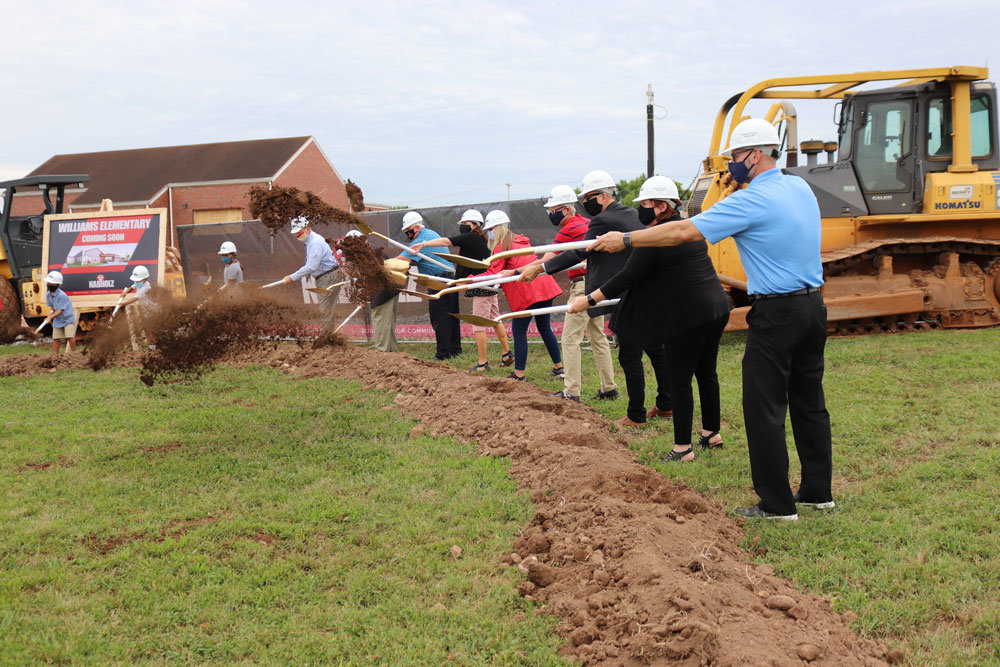 BREAKING SCHOOL GROUND