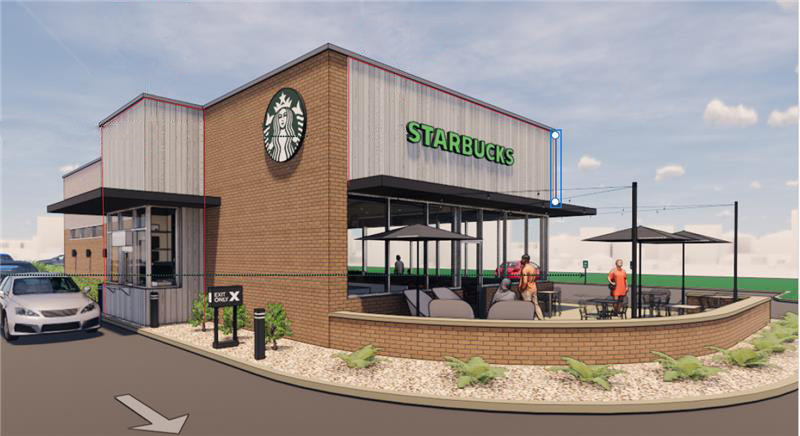 Starbucks is targeting an opening in the first half of 2021 at 1644 W. Republic Road.