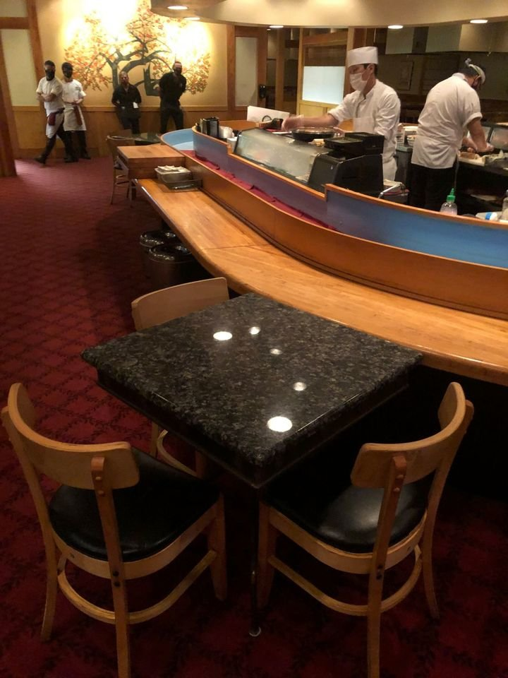 Nakato Japanese Steakhouse is receiving $20,000 for PPE and other expenses.