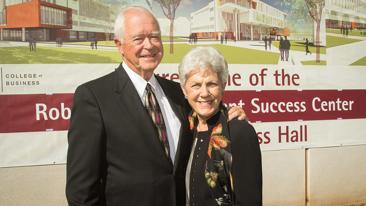 Robert and Marlese Gourley are selected to receive the 2020 Bronze Bear award.