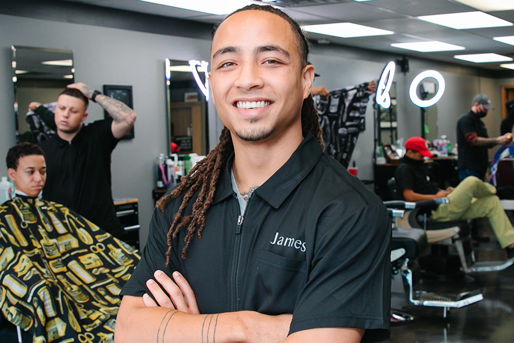 James Seahorn, Talk of the Town Barbershop LLC