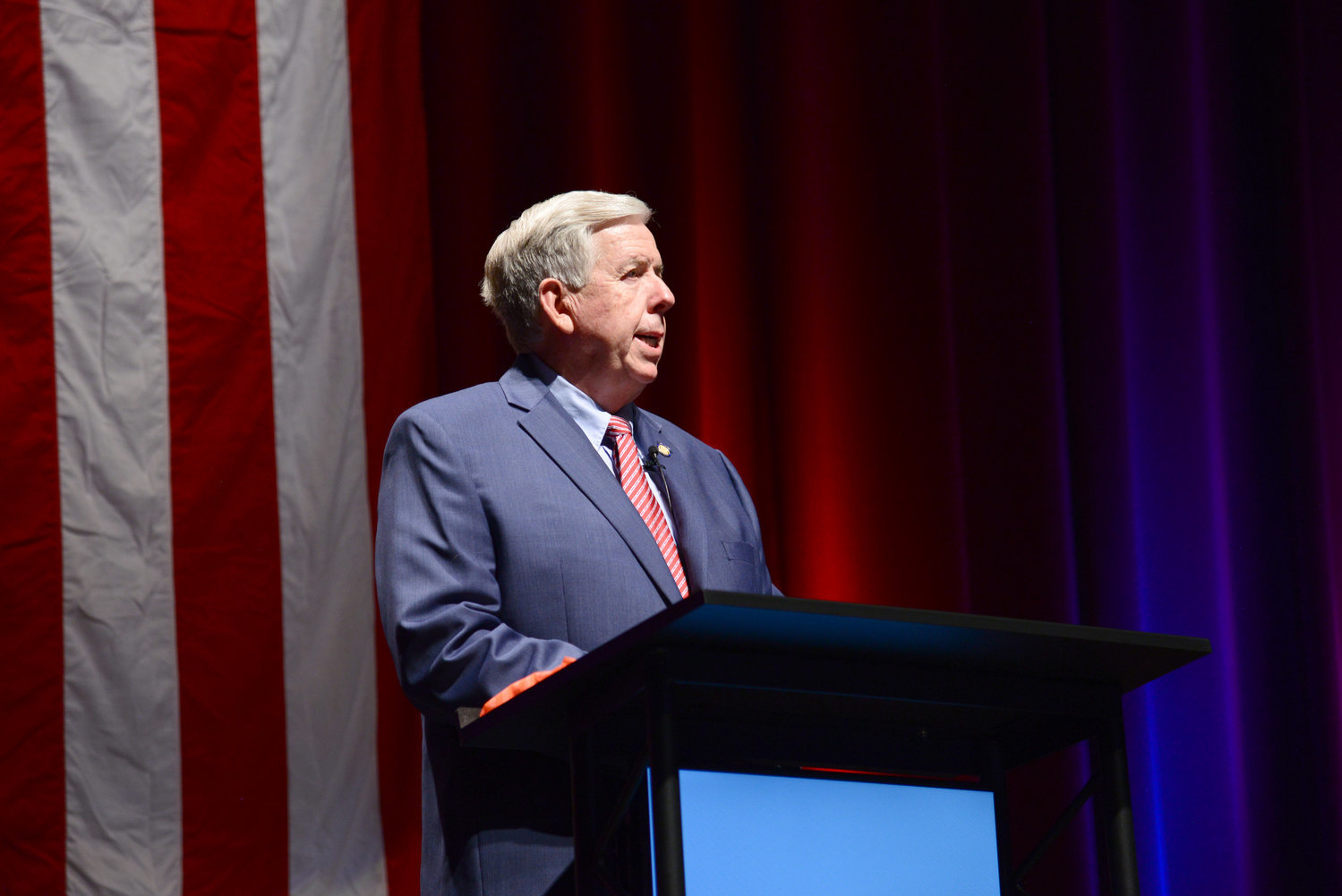 Gov. Mike Parson earns nearly 57% approval from Missouri voters.